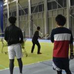 2019.3.3.日男子シングルス練習会【フォアハンドストローク】