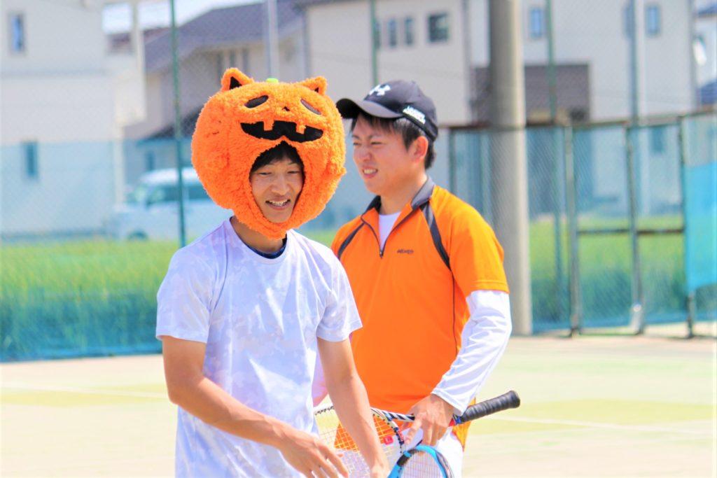 ハロウィンカップ 男子ダブルス〈C2・わかば〉 @ 柳生園テニスクラブ【倉益校】