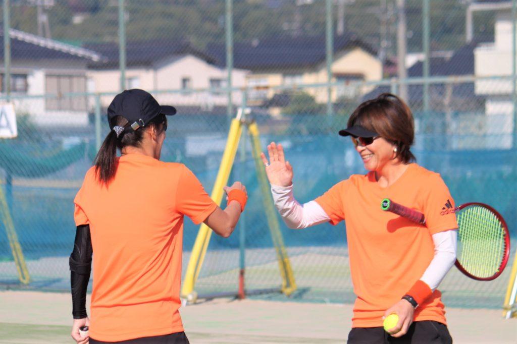 ハロウィンカップ 女子ダブルス〈C2・わかば〉 @ 柳生園テニスクラブ【倉益校】