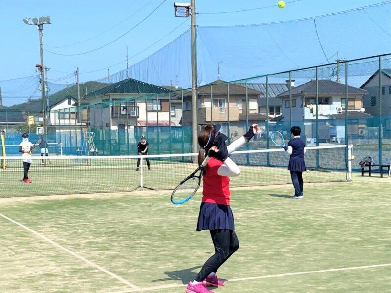 ウィークデーサーキット 女子ダブルス 〈ヴィーナス〉 @ 柳生園テニスクラブ【倉益校】