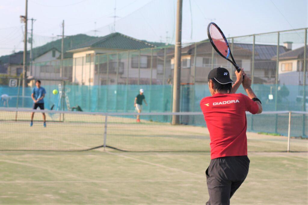 マッチ練習会 男子シングルス〈不問〉 @ 柳生園テニスクラブ【倉益校】