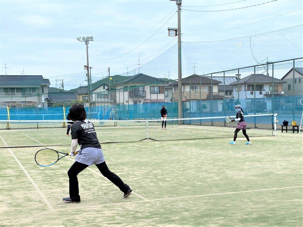 ウィークデーサーキット 女子ダブルス 〈プリンセス〉 @ 柳生園テニスクラブ【倉益校】