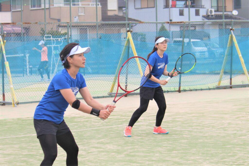 イブニング杯 男子・女子ダブルス 〈わかば〉 @ 柳生園テニスクラブ【倉益校】