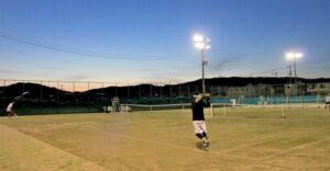 イブニング杯 男子シングルス〈B・C〉 @ 柳生園テニスクラブ【倉益校】