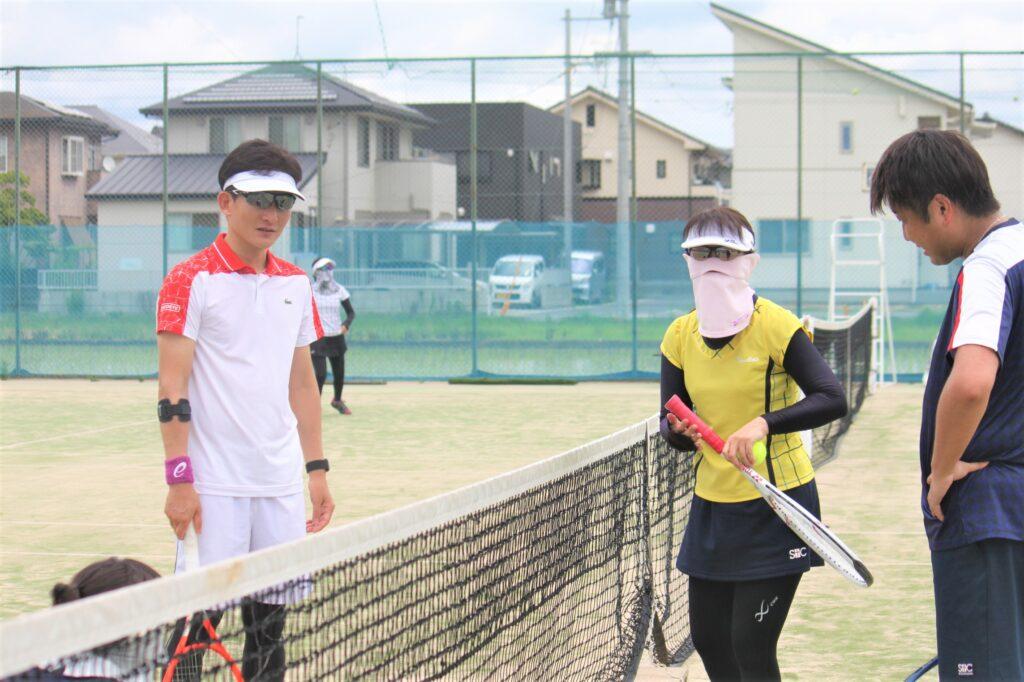 究極の総当たり戦 ミックスダブルス 〈B・D〉 @ 柳生園テニスクラブ【倉益校】