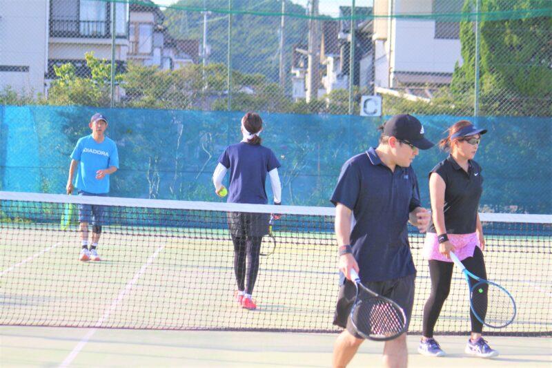 イブニング杯 ミックスダブルス 〈C・D〉 @ 柳生園テニスクラブ【倉益校】