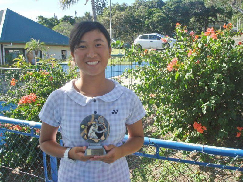 ITF初挑戦(ニューカレドニア)ダブルス 初優勝