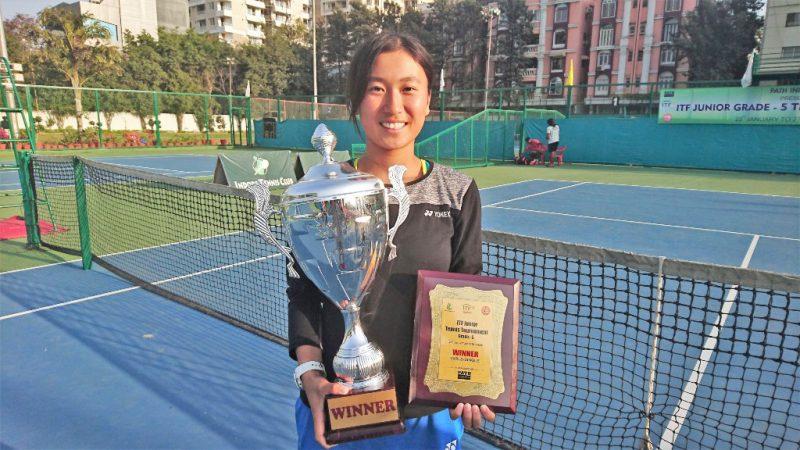 ITFシングルス 優勝(インド)