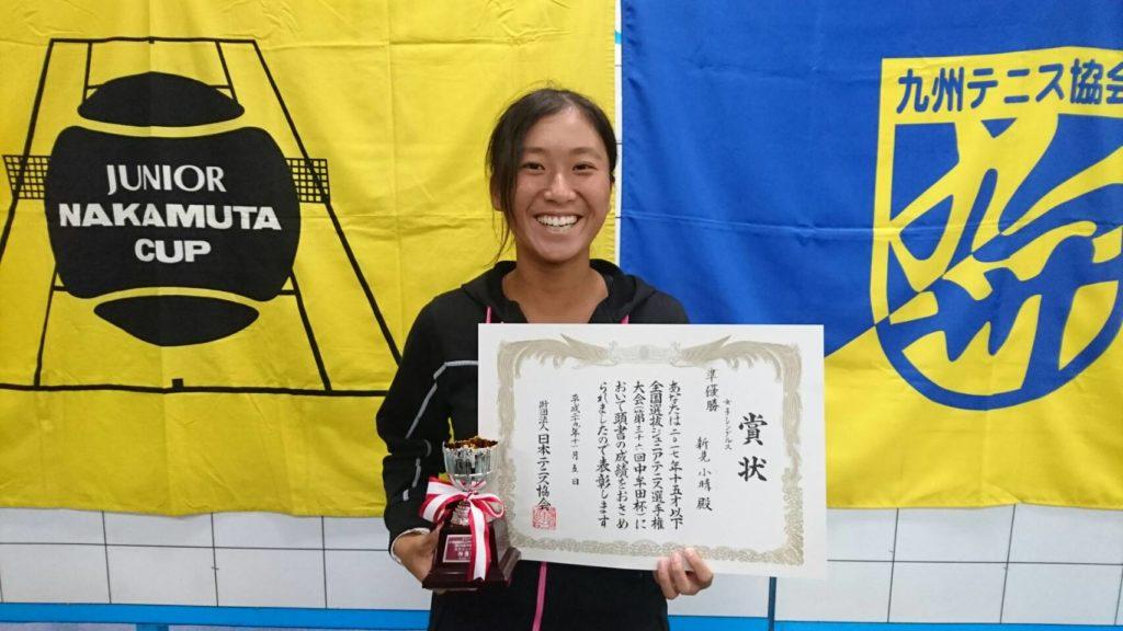 U15中牟田杯 準優勝