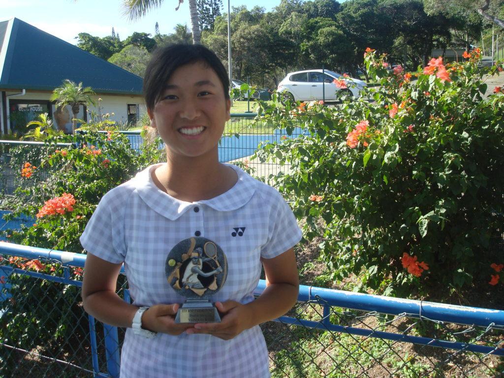 ITF初挑戦(ニューカレドニア)ダブルス初優勝
